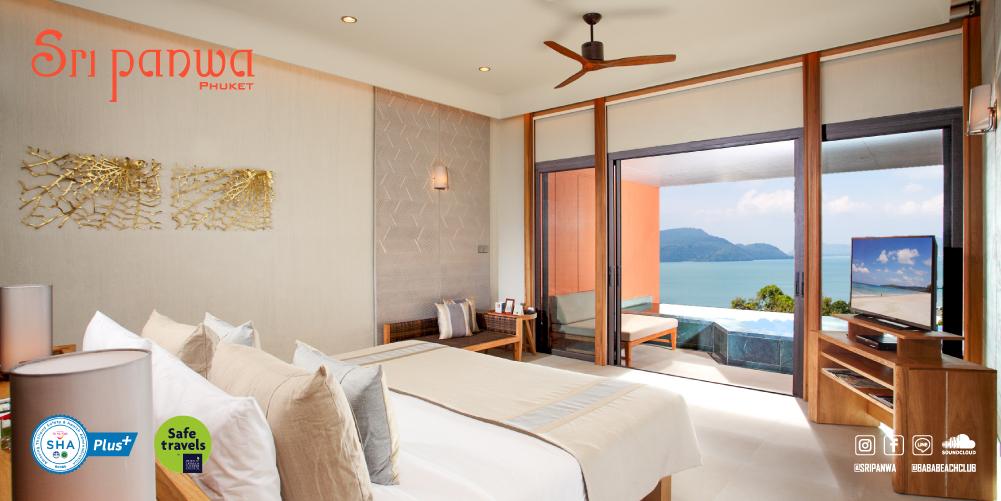 Pool Suite West Ocean View - Sri panwa Phuket