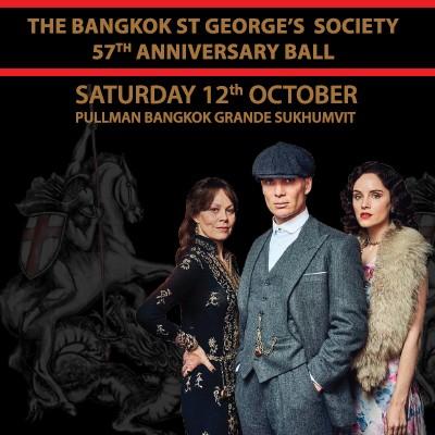 The Bangkok St. George's Society 57th Anniversary Ball