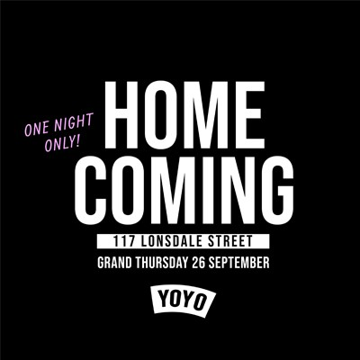 Home Coming YoYo @ 117 Lonsdale