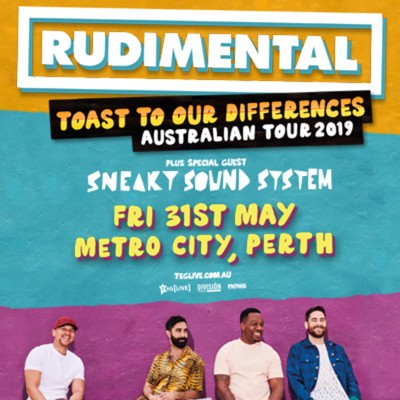 Rudimental with Sneaky Sound System
