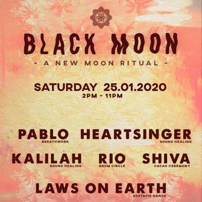 Black Moon ~ A New Moon ritual ~ Laws on Earth x Kalilah x Rio