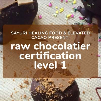 Raw Chocolatier Certification Level 1 | 05 - 10 December 2020