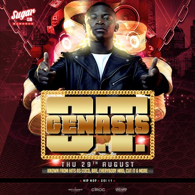 Sugar Bangkok Presents: O.T Genasis - Live at Sugar Club