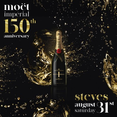 Moët Impérial 150th Anniversary | Steves