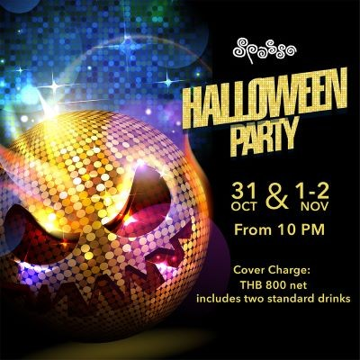 Halloween Party at Spasso