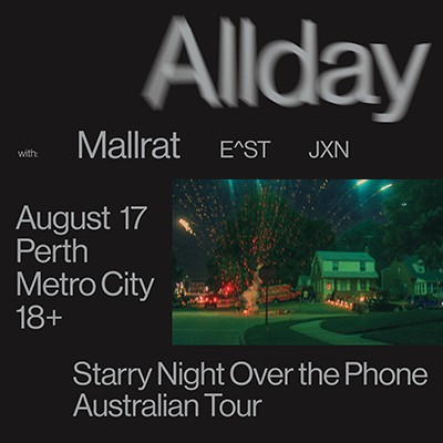 "Allday - ""Starry Night Over The Phone Tour"""