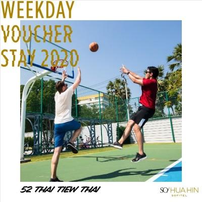 Weekday 2020 Voucher | SO Sofitel Hua Hin • 52nd Thai Tiew Thai