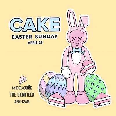CAKE Easter Sunday at The Camfield
