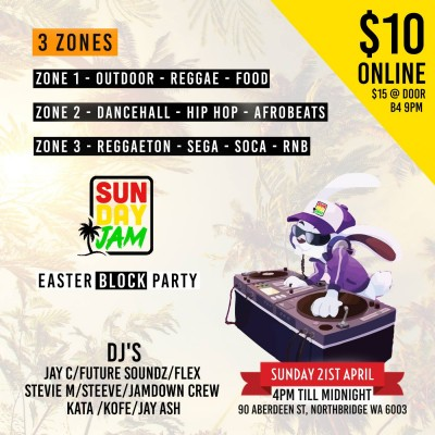 Sunday Jam Easter Block Party