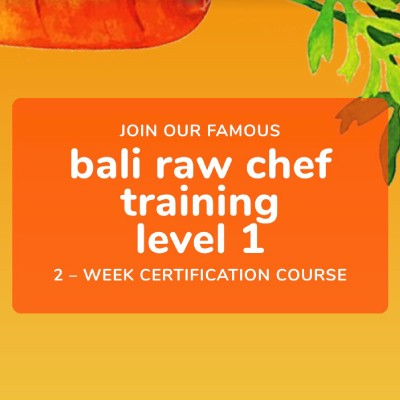 Bali Raw Chef Training Level 1 | 7-21 October 2019