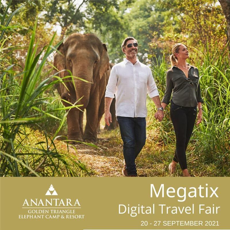 Anantara Golden Triangle Elephant Camp & Resort   อนันตรา สามเหลี่ยมทองคำ แคมป์ช้าง รีสอร์ท   1st Megatix Digital Travel Fair