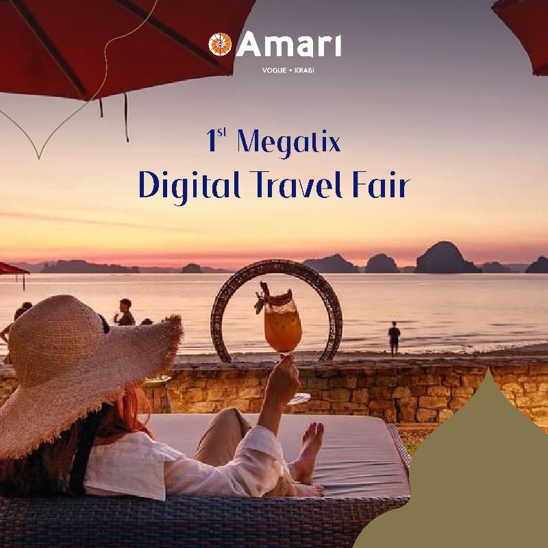 1st Megatix Digital Travel Fair    Amari Vogue Krabi
