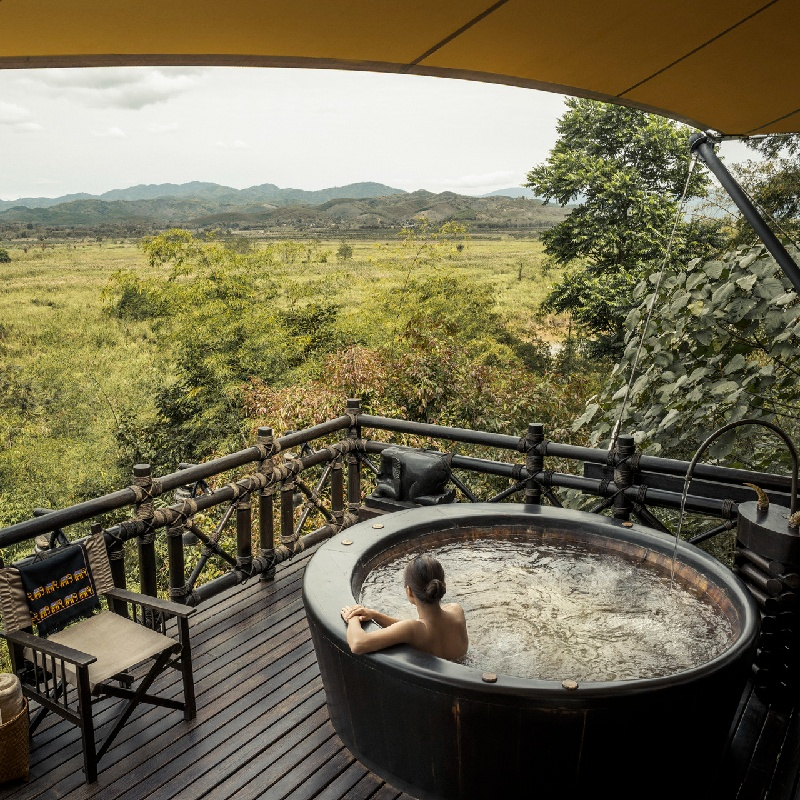 Off the Grid with Four Seasons Tented Camp Golden Triangle   1st Megatix Digital Travel Fair