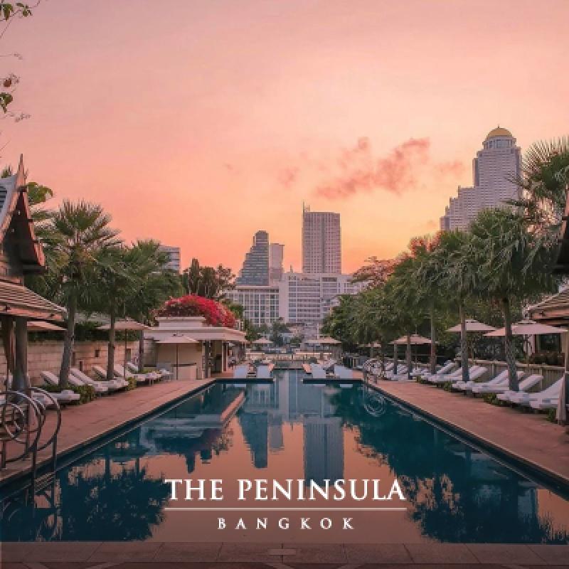The Peninsula Bangkok l 1st Megatix Digital Travel Fair
