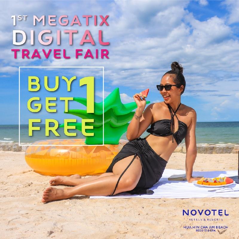 BUY 1 GET 1 FREE   1ST MEGATIX DIGITAL TRAVEL FAIR