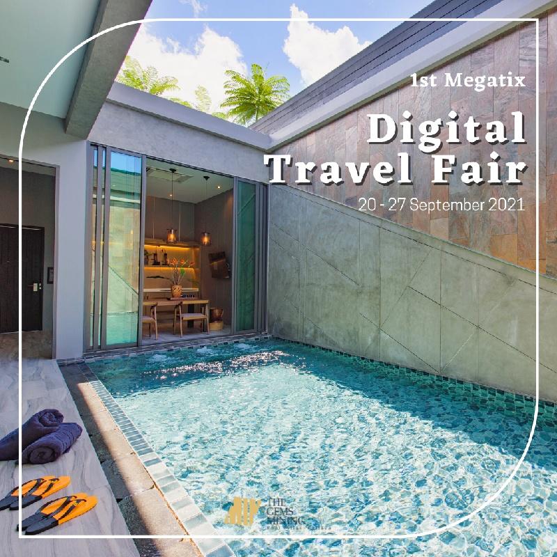 The Gems Flash Sale on Megatix 1st Digital Travel Fair