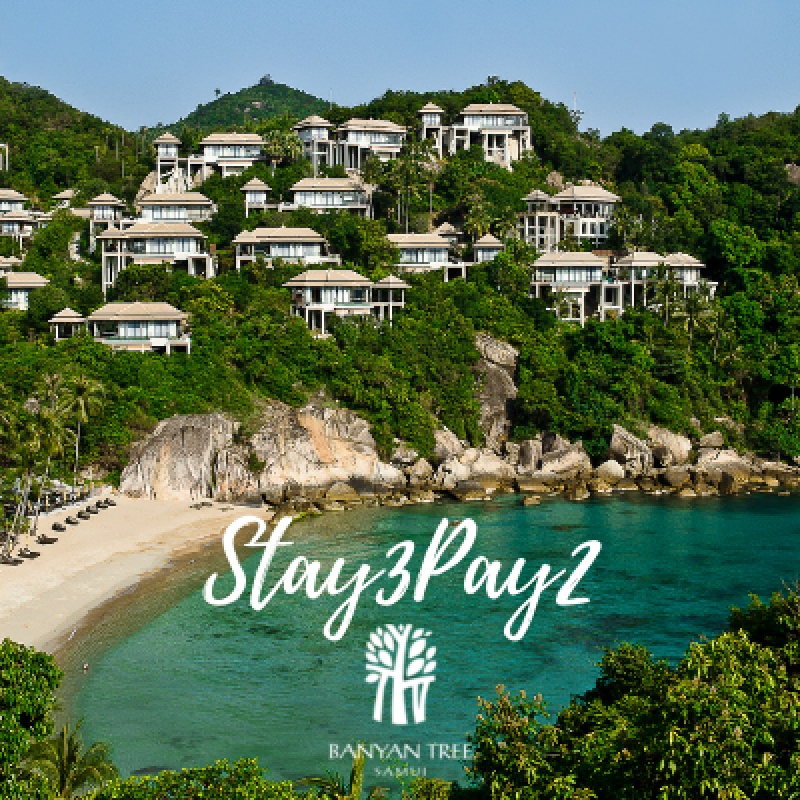 Banyan Tree Samui I Stay3Pay2 - Special Offer