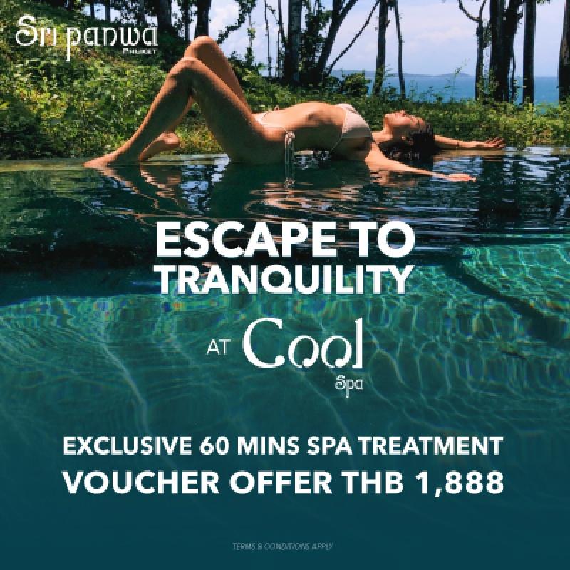 Escape to tranquility at Cool Spa, Sri panwa Phuket
