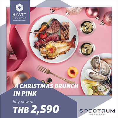 A Christmas Brunch In Pink