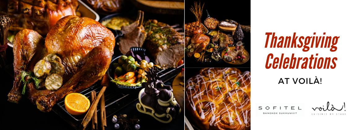 Thanksgiving Celebrations @Voilà!