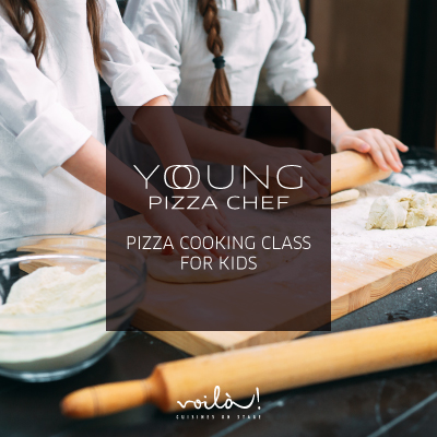 Young Pizza Chef at Voilà!