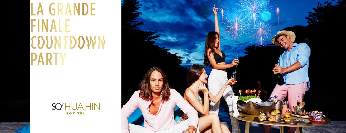 The Dazzle Collection - 'LA GRANDE FINALE' New Year's Eve