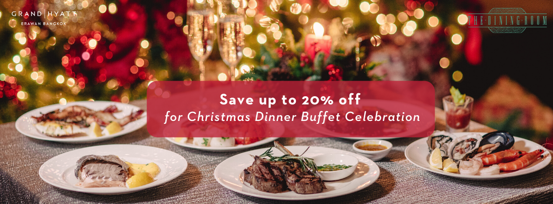 Christmas Day Dinner Buffet at The Dining Room