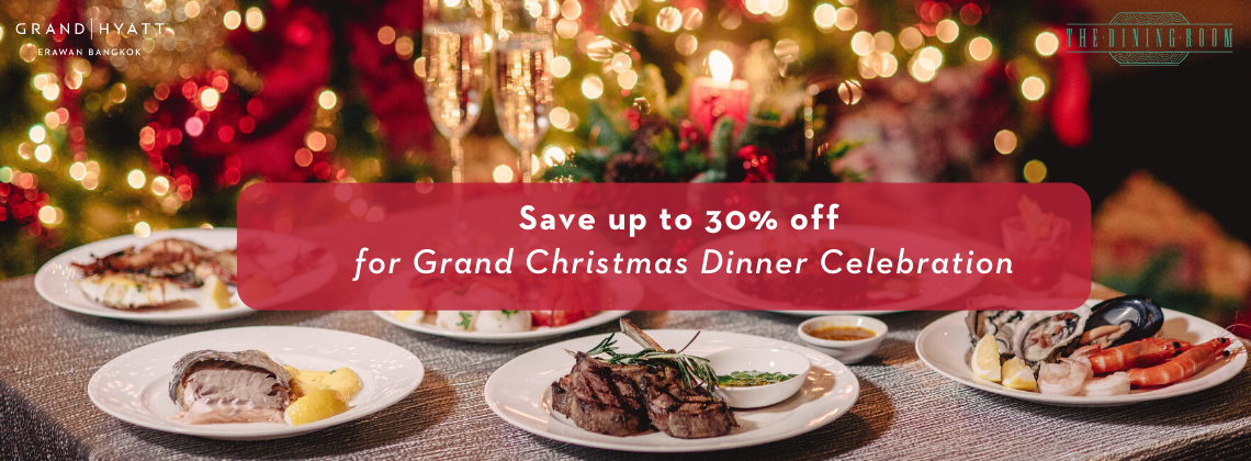 Grand Christmas Dinner at The Dining Room