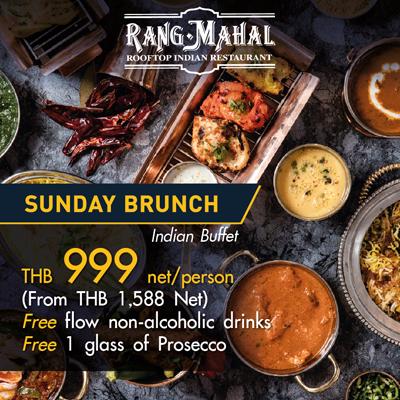53rd Thai Tiew Thai Rang Mahal Sunday Brunch Vouchers