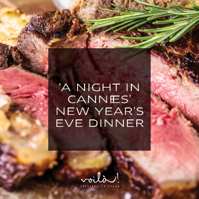 New Year's Eve Dinner: A Night in Cannes