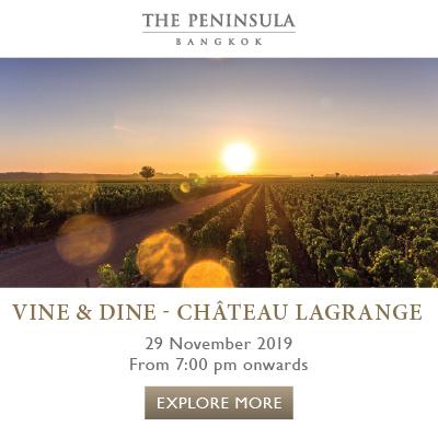 Vine & Dine - Château Lagrange