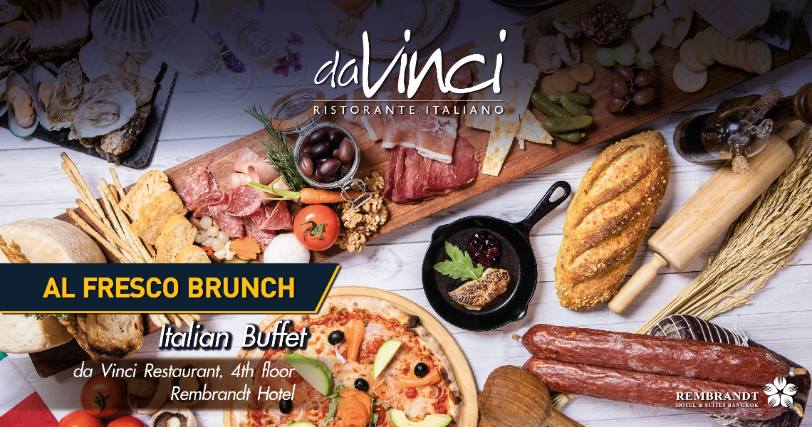 53rd Thai Tiew Thai da Vinci Al Fresco Brunch Vouchers