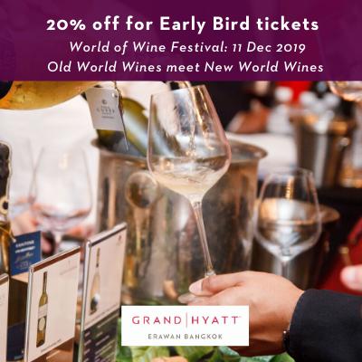 World of Wine Festival 2019 by Grand Hyatt Erawan Bangkok