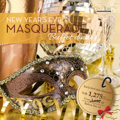 Buffet Dinner - New Year's Eve Masquerade Party