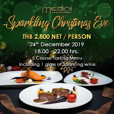 Sparkling Christmas Eve Dinner at Medinii