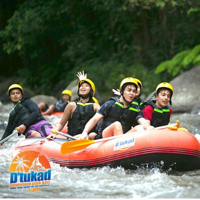Ayung River Rafting - D'tukad Adventure Club