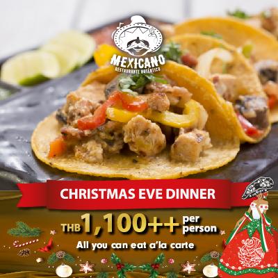 Christmas Eve Dinner @Mexicano