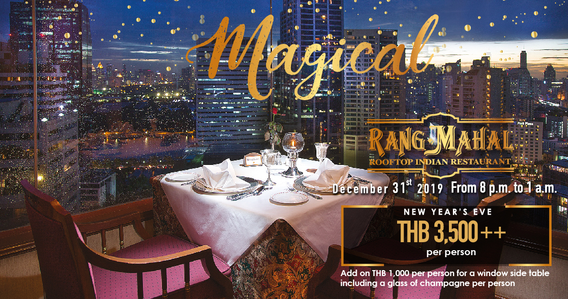 Magical New Year's Eve party @Rang Mahal