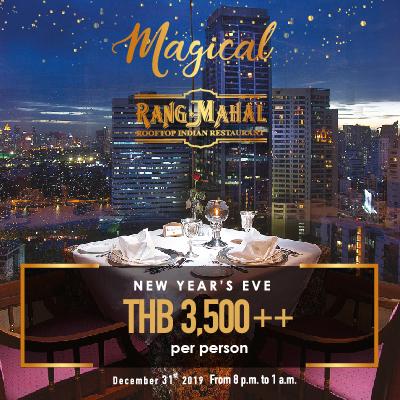 Magical New Year's Eve party @Rang Mahal