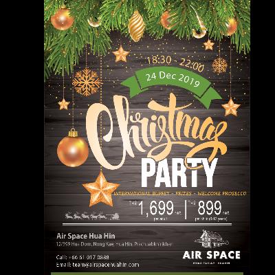 Christmas Eve Buffet Dinner at Air Space Hua Hin