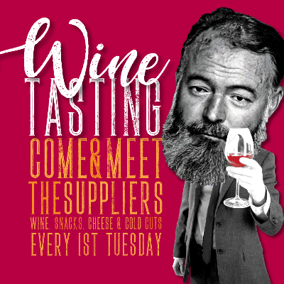 Hemingway's Wine Tasting 3rd March 2020