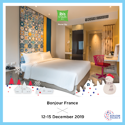 Bonjour France 2019 - Ibis Styles Phuket City - High Season
