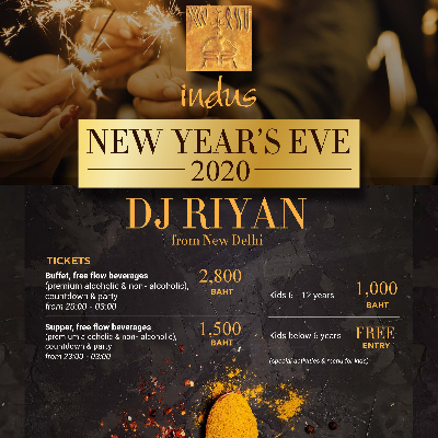 New Years Eve at Indus