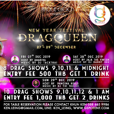 Dragqueen New Year Festival at Maggie Choo's