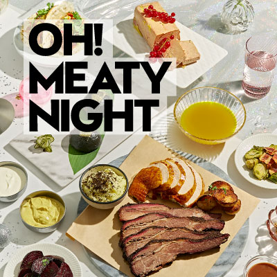 Oh! Meaty Night XMAS Dinner at The Kitchen Table