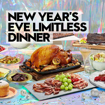 New Year's Eve Limitless Dinner at The Kitchen Table