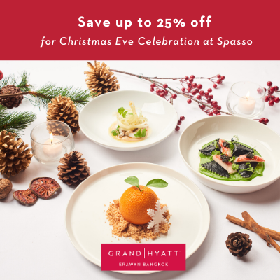 Christmas Eve Five – Course Italian Set at Spasso