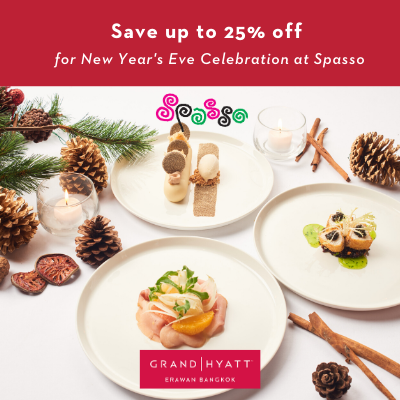 Glamour Gold Five − Course Italian Set at Spasso
