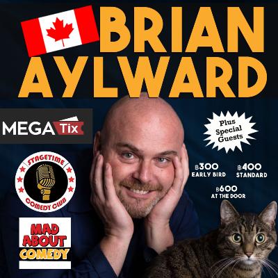 Canadian Comedian Brian Aylward