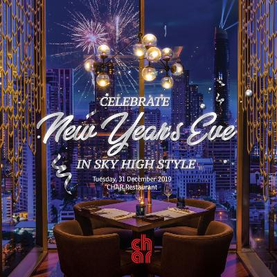 CHAR Restaurant New Year's Eve Dinner